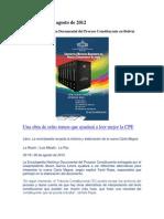 Enciclopedia Del Proceso Constituyente en Bolivia