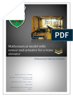Modelling and Sim of a Transelevator
