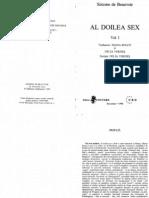 Simone De Beauvoir - Al doilea sex - volumul I