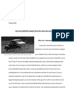 how was nascar created-draft proposal final