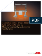 ABB - Centre Break Isolator - Manual