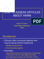 EBM - How to Assess About Harm