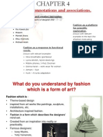 Fashion as a Form of Artistic & Creative Expression