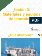 Materiales e Instrumentos que se usan en una laboratorio de Química