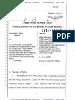 Richard Fine USDC CivilRightsComplaint1-6-10