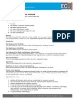 Research Proposal an Example
