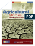 Agricultural Microinsurance Global Practices and Prospects