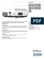 Epson EB-1960 3LCD XGA Bright Multimedia Projector