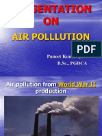 Presnetation of Air Pollution .ppt