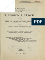Journal of the Common Council of the City of Indianapolis (1926)