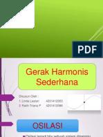 Gerak Harmonis