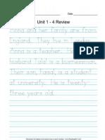 CELP 1 Unit 1-4 Paragraph Review