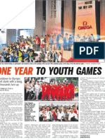 One year to youth games, 15 Aug 2009, Straits Times