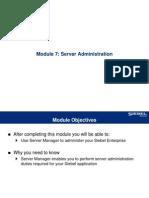 07ESS Server Administration
