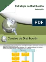 Distribución. Marketing Mix