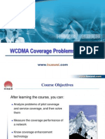 WCDMA RNO Coverage Problem Analysis