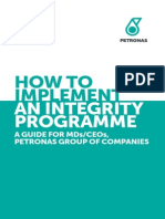How to Implement Intregrity Program