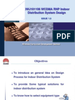 C16 WCDMA RNP Indoor Distribution System Design ISSUE1.0