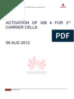 3G SIB4 Activation