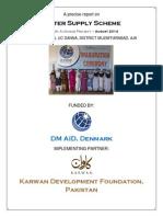 Water Supply Scheme- Bugna, AJK