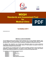 Medical Clinics Accreditation Standards