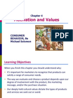 Chapter 4 - Motivation and Values