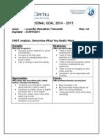 my personal goals by fikar 6a