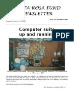 Santa Rosa Fund Newsletter No 28 November 2006