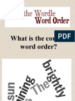 What the Wordle Wordorder 2