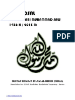 Proposal Maulid Nabi 1436 H (2015 M)