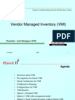 VMI Process in Oracle