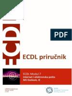 ECDL Modul 7 - Internet i Elek.posta