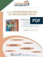 Linee Guida Agevolazioni Fiscali Edilizia