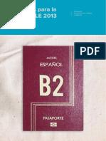 Materiales Para La Clase de ELE 2013 Nivel B2