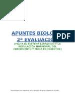 Apuntes Bio 2ª Evaluación