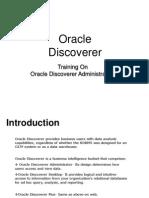 Discoverer Administration PPT