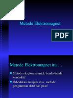 Metode Elektromagnet