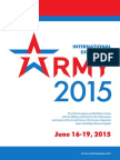 Presentation The International exhibition ARMY 2015