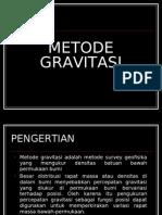 Metode Gravitasi
