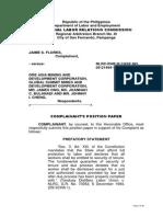 Position Paper-Jaime S. Flores