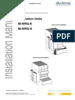 M-WRG-K S Installation Manual 10-06-2011