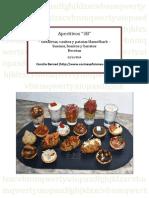 Aperitivos 3b - Tartaletas, Vasitos y Patatas Hasselback - Recetas