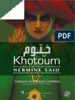 Khotoum Exhibition 2014. Brochure ( Eng copy)