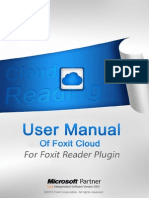 User Manual of Cloud Reading Plugin