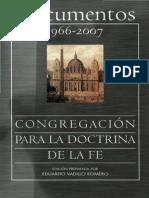 Congregacion Para La Doctrina de La Fe Documentos 1966 2007 Bac 2008