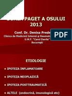 Boala Paget 2013