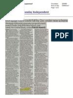 Sunday Independent 30 11 2014