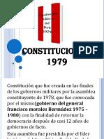 Constitucion de 1979-Derecho Constitucional Peruano