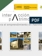 Dosier Presentación InterAcción Patrimonial