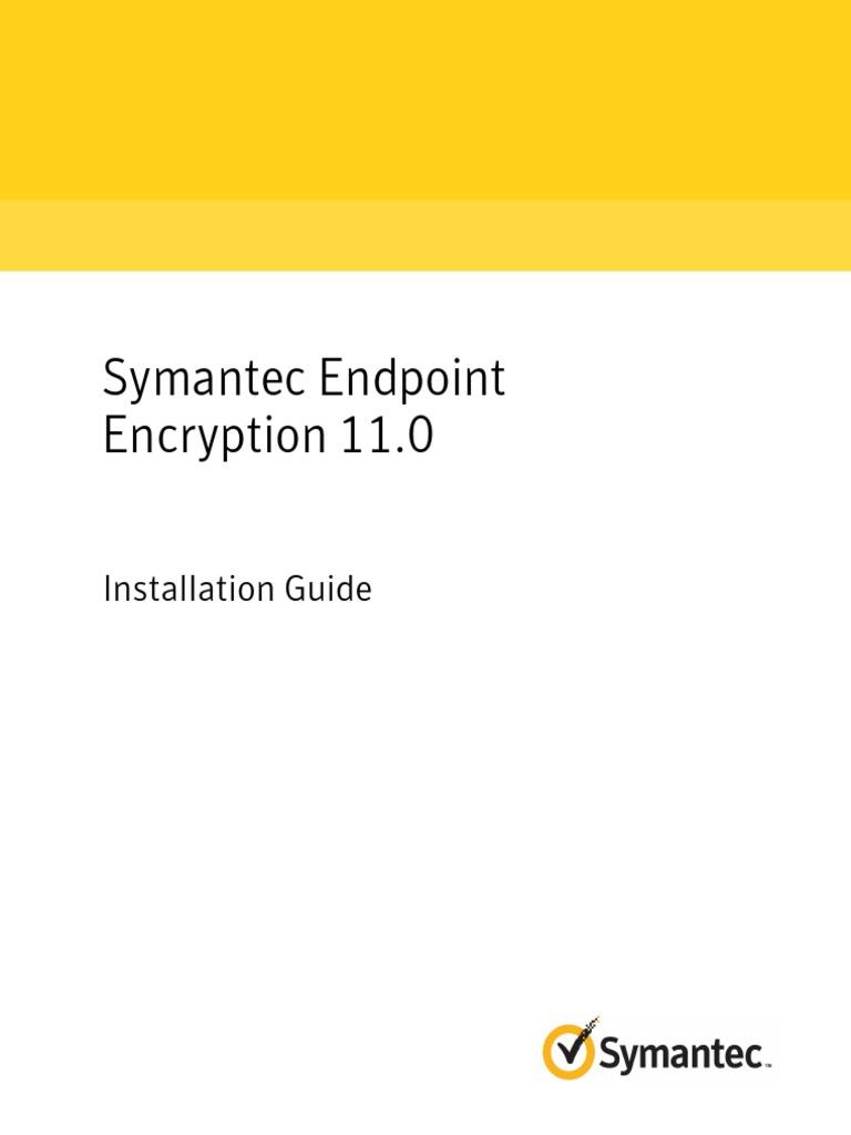 symcEE_11 0 0_InstallGuide_en | Active Directory | Remote
